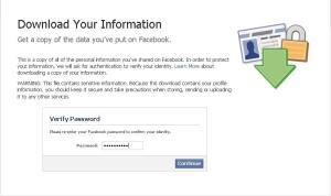 verifikasi download dengan password